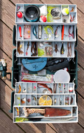 Image: Tackle box. Company profile at WISH Creative.