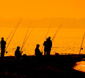 Image: Fishermen on boat. Business to business clients of WISH Creative.